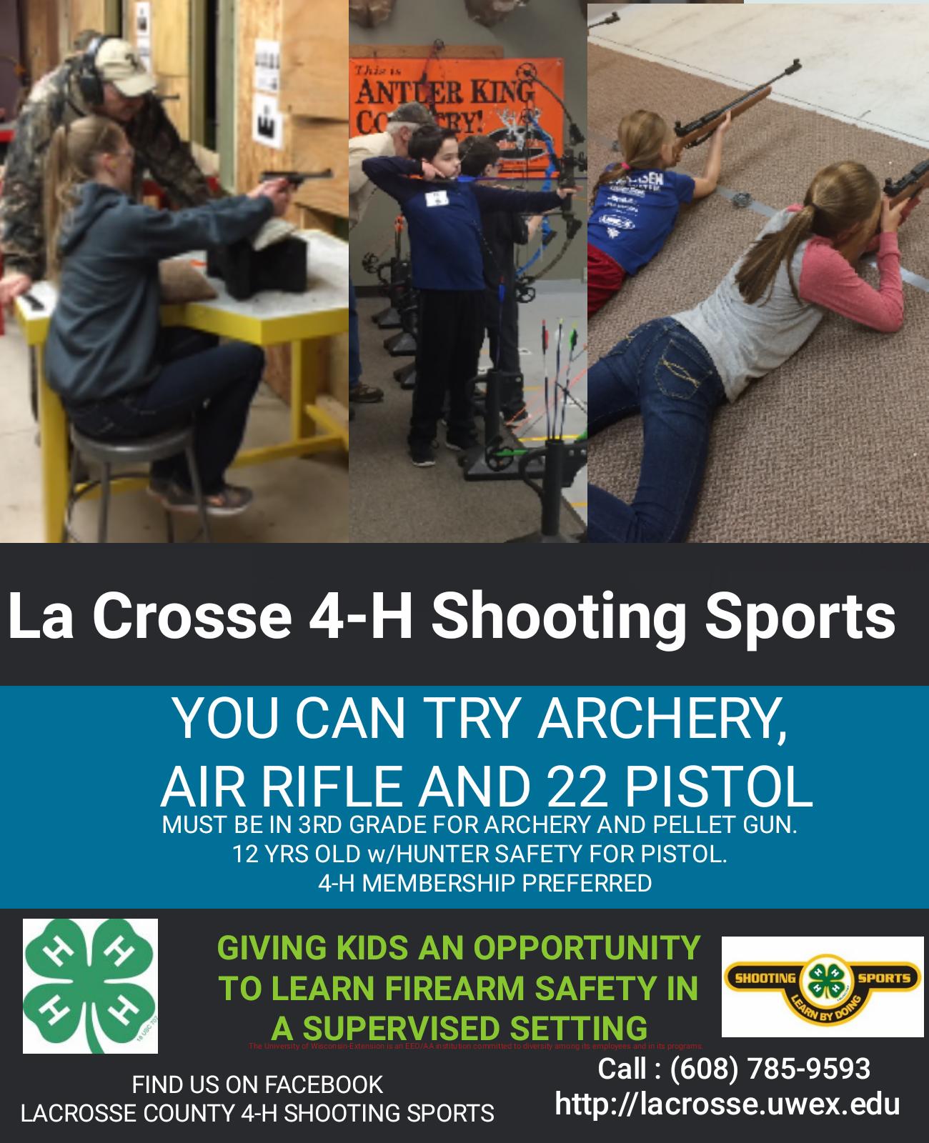 Shooting Sports – Extension La Crosse County